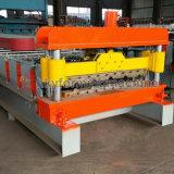 Die Stahlplatten-Rolle betätigen, die Maschine bildet