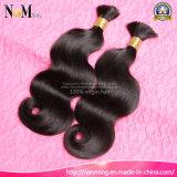 Brasilianische Menschen-Jungfrau-Haar Chenp Haar-Masse der Karosserien-Wellen-100%