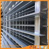 Barra de acero de esgrima Refern vertical -capa de polvo