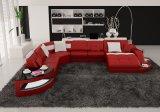 يعيش غرفة أثاث لازم قطاعيّة حديث بينيّة جلد أريكة