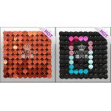 Muster gebildete DIY Innenarchitektur-Materialien