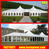 15X30m Aluminium-Belüftung-hohe Spitzen-Mischungs-Hochzeitsfest-Festzelt-Zelt