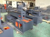 Máquina del torno del CNC de la cama plana de la unidad del huso de Indepandent