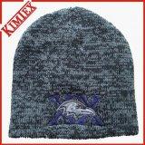 Beanie tricoté par bruyère bon marché de l'hiver