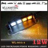 非常灯に警告するLED車のストロボのフラッシュダッシュのデッキのバイザー