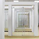 Halb-Gestaltet, Dusche-Tür mit Seitenkonsole-Dusche-Kabinen und Gehäusen schiebend