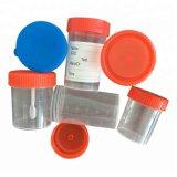 Tazza a gettare dei contenitori dell'urina delle feci di esemplare del contenitore di plastica dell'accumulazione