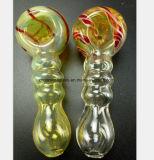 De gele Waterpijp van het Glas de Olie van het Recycling van de Buis van de Vorm van het Bamboe