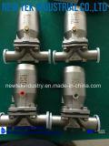Гигиеническое цена мембранного клапана дна бака Ss316L ручное