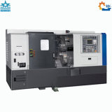 Torno CNC cama inclinada 5.5kw máquina con la potencia del motor