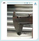 Cambiador de calor de aluminio del aire del tubo del acero de carbón de la aleta de la agua caliente