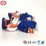 Tiger Animal commandant de bord et la qualité Steawardess un jouet en peluche