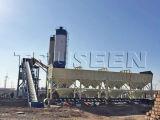 Concrete het Groeperen van de Greep van China Zhengzhou 60m3 Installatie