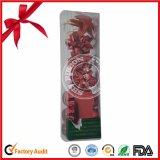Comercio al por mayor de la cinta roja de proa para la decoración de Navidad