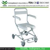 Hauptsorgfalt-Aluminium-justierbarer Badezimmer-Dusche-Stuhl mit Armlehne und Gegenständer