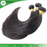 Естественный цвет заготовки 100% волос человека Бразилии