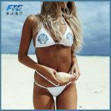 Мода на линии бикини пляжную купальный костюм нижнее белье,