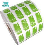 Papier couché en aluminium pour l'alcool Pad Rouleau de papier