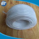 Non-Toxic clair PVC flexible en plastique renforcé de fibre de tubes de tube