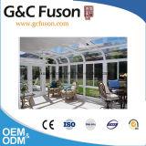 Het geprefabriceerde Nieuwe Duidelijke Glas Sunroom van het Frame van het Aluminium van het Ontwerp