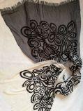 Stampa di seta del cavo dello scialle del cachemire
