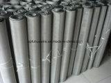 ステンレス鋼の金網(304)の鋼鉄によって編まれる網
