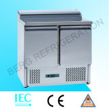 Холодильник счетчика сандвича 2 дверей коммерчески с Ce