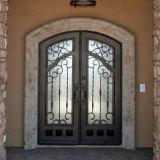 Luxuxnizza kundenspezifische Sicherheits-Doppelt-Eisen-Haustür