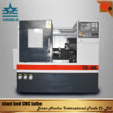 La puissance du moteur 5,5 Kw ck50L lit tour CNC de pente