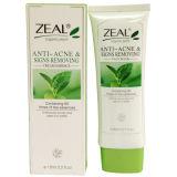 Água que travam a Anti-Acne & sinais que removem o cuidado de pele do limpador