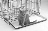 最上質の熱い販売の安い正方形の管ペットベッドの家犬のケージ