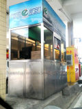 Переносной стенд билета из нержавеющей стали для установки вне помещений