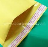 Sacchetto espresso della carta kraft della busta gialla della bolla, sacchetto di spedizione, sacchetto del corriere