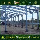 Edificio prefabricado del almacén de la estructura de acero de Suráfrica