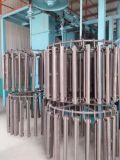 Tunnel-Granaliengebläse-Maschine für Teile/kontinuierliches