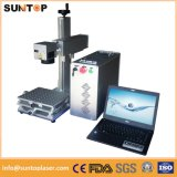 Laser que marca a máquina portátil da marcação do laser para máquina revestida da marcação do material/laser