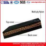(Matéria têxtil) estilo de borracha Multi-Ply do centímetro cúbico das correias transportadoras