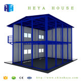 China-Fabrik-Export-Doppelt-Geschoss-vorfabrizierte Stahlkonstruktion-Häuser