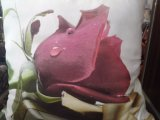 Imagem a cores de impressão digital de imagem Tote Shopping Saco de algodão