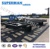 20FT Utility Flatbed Container Transport Industrial Drawbar Trailer for Yard Use
