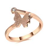 De Ring van de Vinger van de Juwelen van dame Fashion Roestvrij staal (hdx1040)