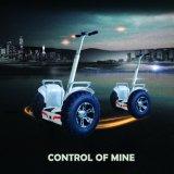 1266wh 72V doppelte Batterie-elektrisches Fahrzeug 21 Zollelektrischer Chariot-Selbstbalancierender Roller