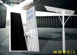 Contrôle intelligent de temps et la lumière solaire intégré avec le corps du capteur de feux de la rue