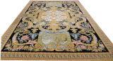 Ковер ручной работы ковры Savonnerie 12,3 X19 120 линии 100% шерсти