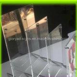Трофей плексигласа высокого прозрачного бросания акриловый
