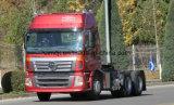 De Vrachtwagen van de Tractor van Auman Etx van Foton 6X4/het Hoofd van de Tractor