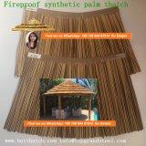 De vuurvaste Synthetische Palm met stro bedekt Viro met stro bedekt om Riet Afrikaan met stro bedekt Hut de Aangepaste Vierkante Afrikaanse Hut Afrika 001 met stro bedekt