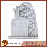 De goedkope Natuurlijke Grafsteen/de Grafsteen van de Engel van het Graniet