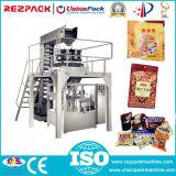 Gránulo sólido giratorio Bolsa Bolsa ya confeccionados de embalaje de alimentos Máquina de embalaje de dulces, snacks