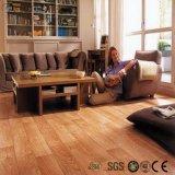 Plancher en bois de PVC de regard de configuration desserrée de lieu public
